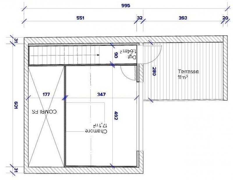 Vente appartement Bordeaux 408930€ - Photo 3