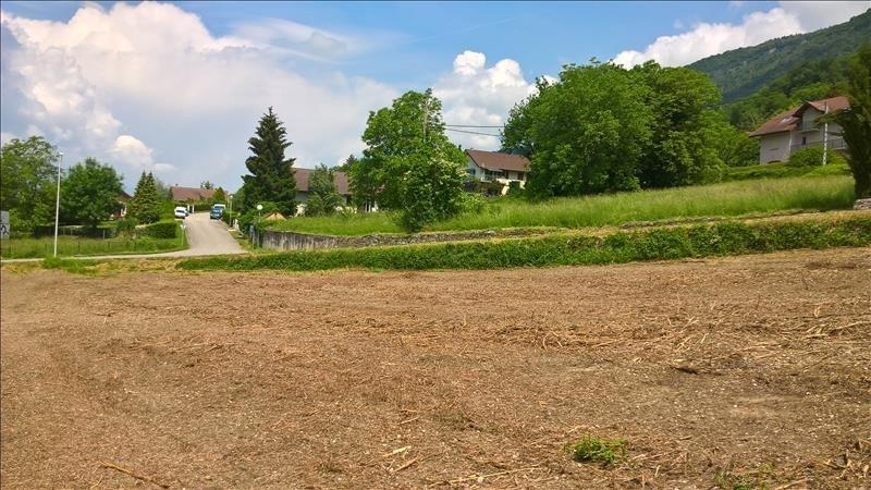 Venta  terreno Chindrieux 88000€ - Fotografía 1