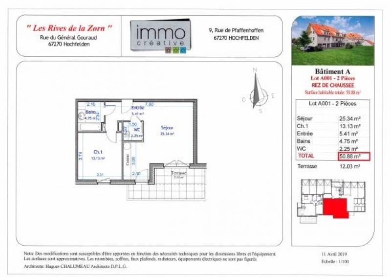 Verkauf wohnung Hochfelden 153446€ - Fotografie 4