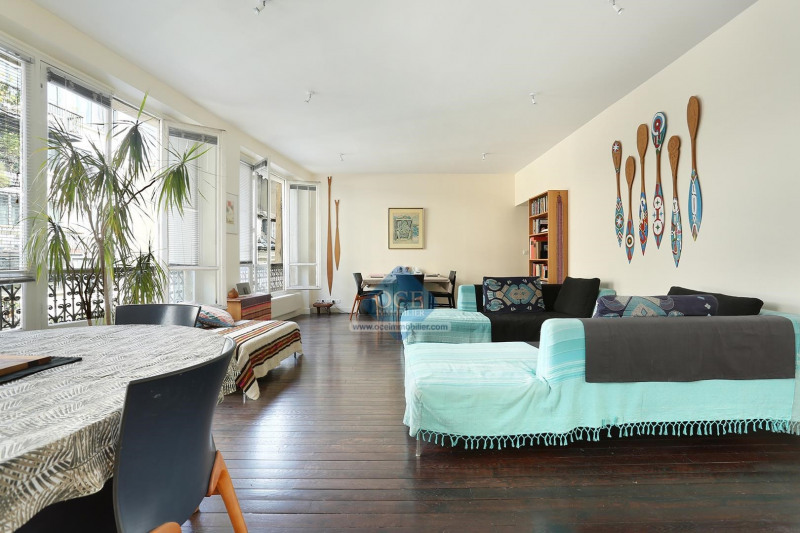 Vente de prestige appartement Paris 3ème 1075000€ - Photo 2