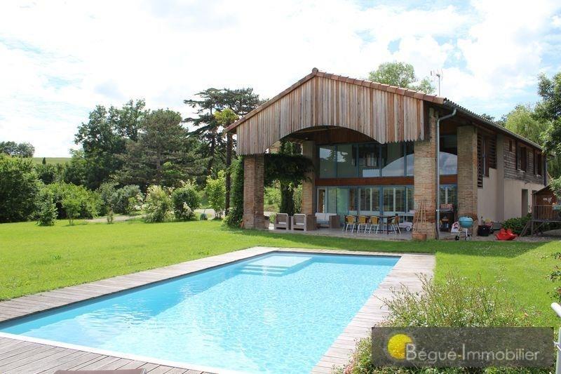 Deluxe sale house / villa 15 mns pibrac 730000€ - Picture 1