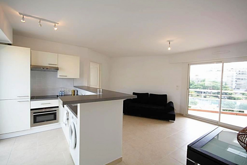Rental apartment Juan-les-pins 1 200€ CC - Picture 1