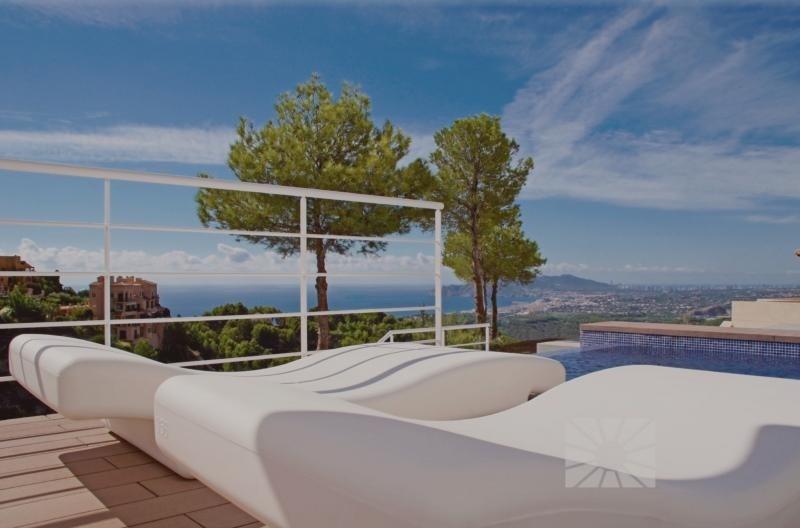 Deluxe sale house / villa Altea province d'! alicante 840000€ - Picture 1