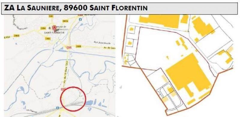 Vente local commercial St florentin 604800€ - Photo 1