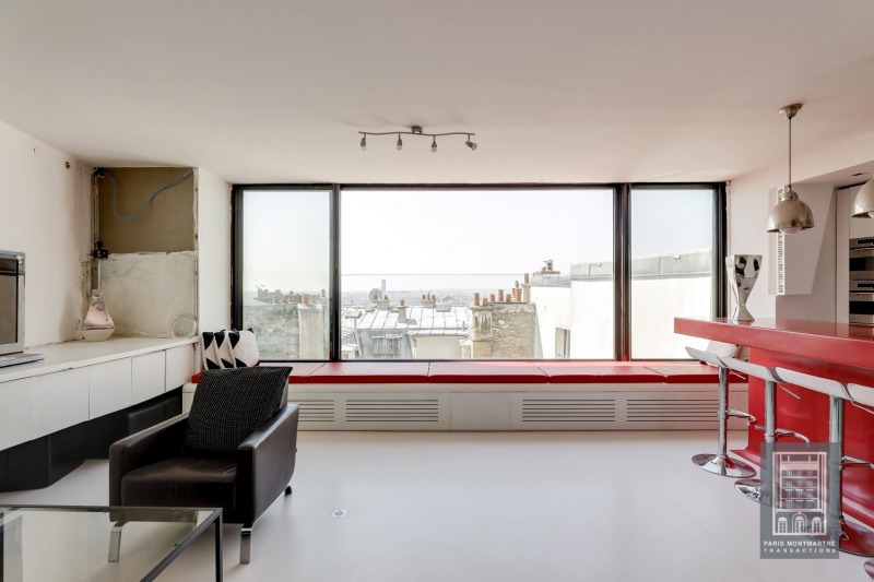Deluxe sale loft/workshop/open plan Paris 18ème 875 000€ - Picture 11