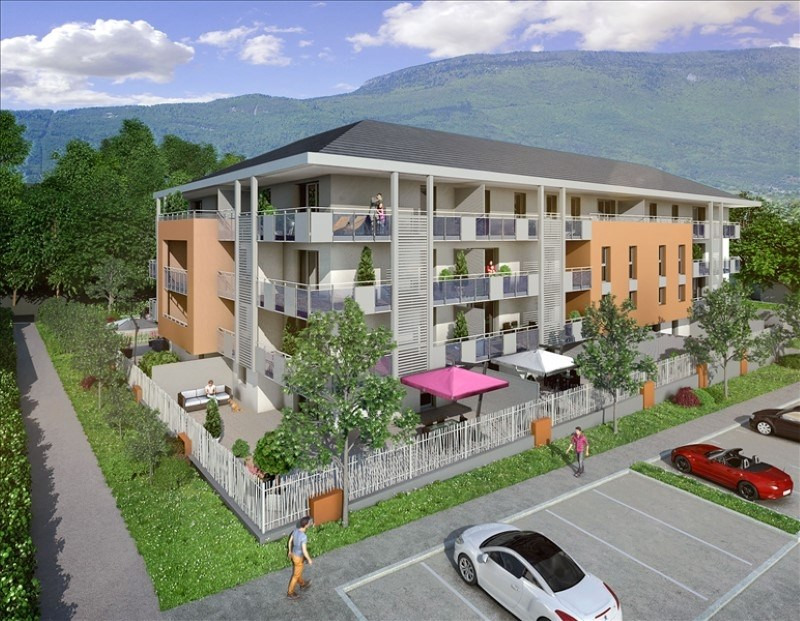 Sale apartment La motte servolex 408 000€ - Picture 1