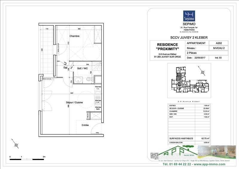 Produit d'investissement appartement Juvisy sur orge 212000€ - Photo 4