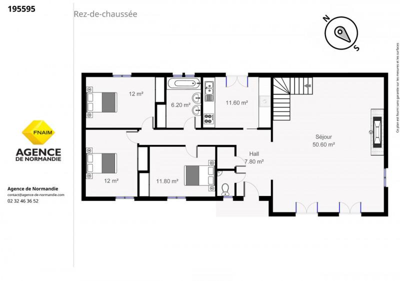 Sale house / villa Montreuil-l'argillé 187000€ - Picture 3