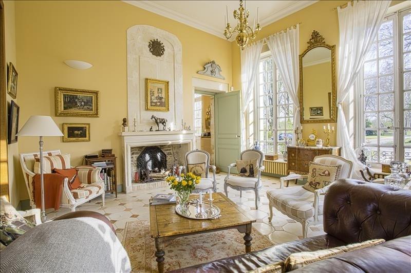Revenda residencial de prestígio castelo Gonneville en auge 936000€ - Fotografia 3
