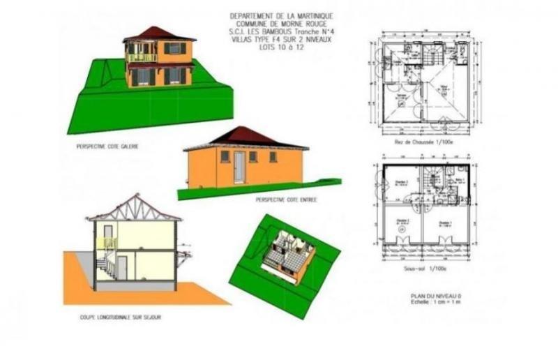 Rental house / villa Le morne rouge 760€ CC - Picture 4