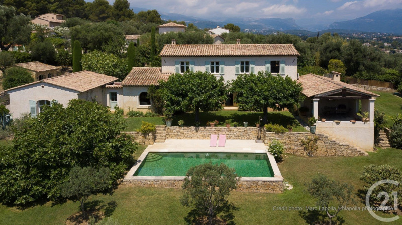 Verkauf von luxusobjekt haus Valbonne 2100000€ - Fotografie 3