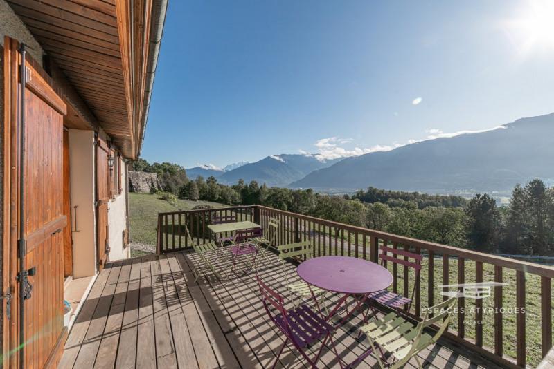 Maison de campagne revisitée avec vue Mont Blanc