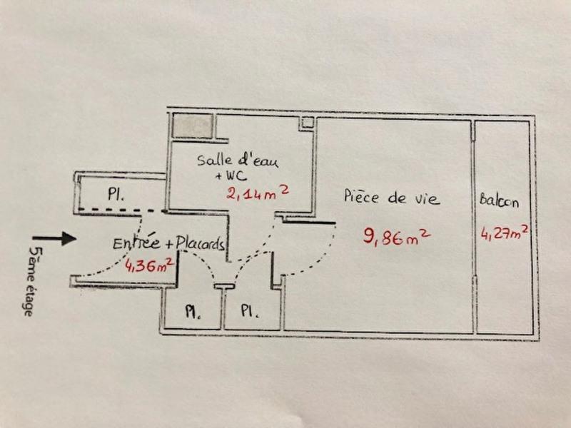 Vente appartement Paris 14ème 147000€ - Photo 6