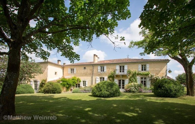 Verkauf von luxusobjekt haus Lectoure 1350000€ - Fotografie 1