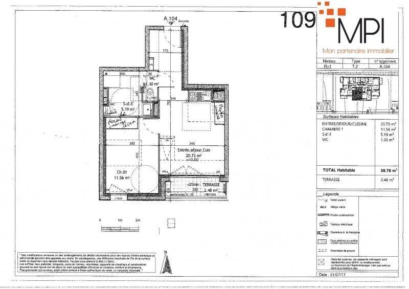 Rental apartment L hermitage 460€ CC - Picture 2