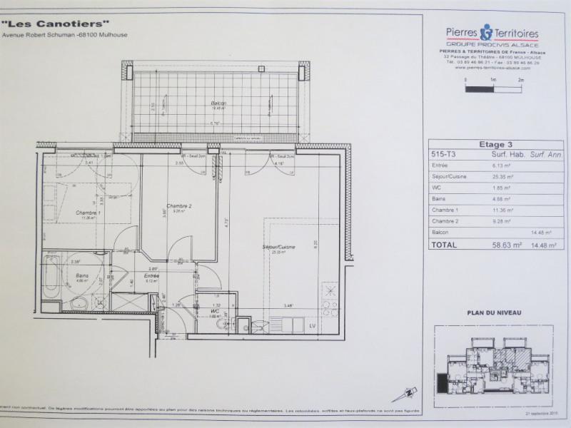 Verkauf wohnung Mulhouse 178000€ - Fotografie 5