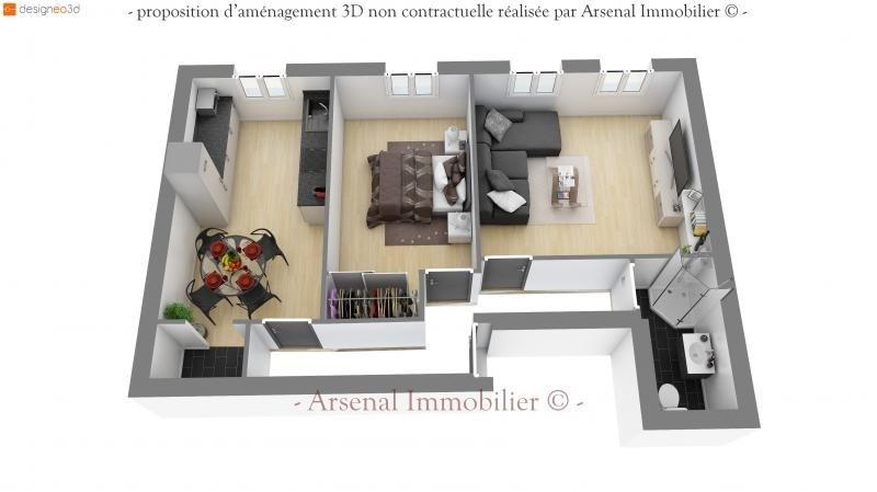 Sale apartment Metz 84000€ - Picture 2