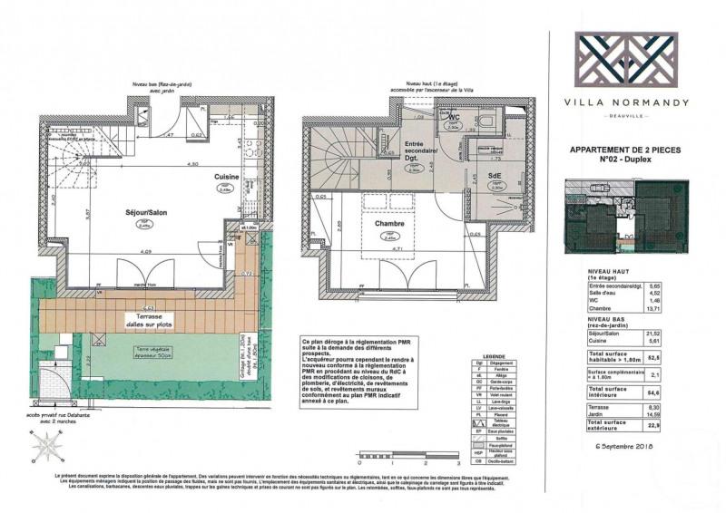 Venta  apartamento Deauville 495000€ - Fotografía 3