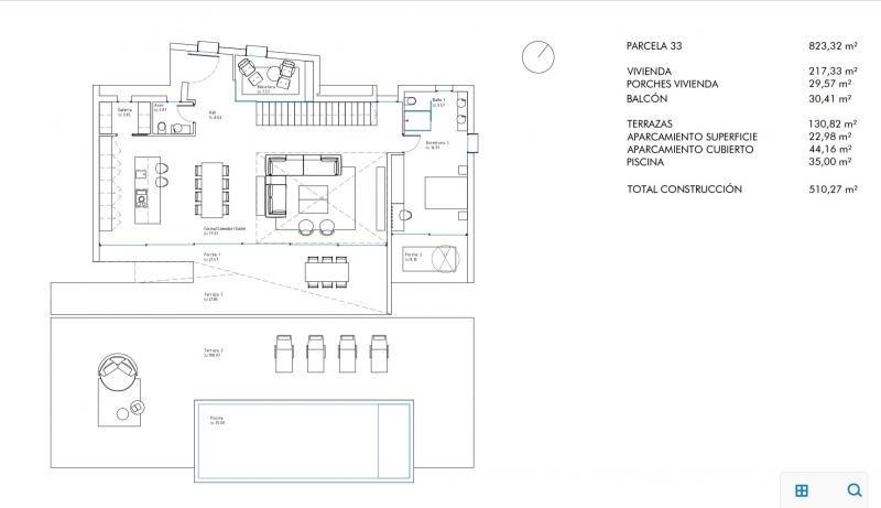 Vente de prestige maison / villa Moraira province d'alicante 950000€ - Photo 8
