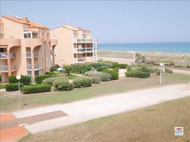 Venta  apartamento Le barcares 70500€ - Fotografía 5