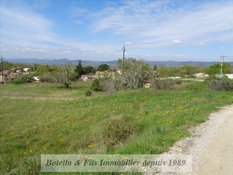 Sale site Barjac 55 000€ - Picture 1
