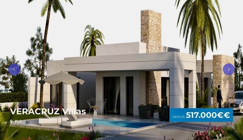 Vente de prestige maison / villa Polop province d'alicante 517000€ - Photo 1