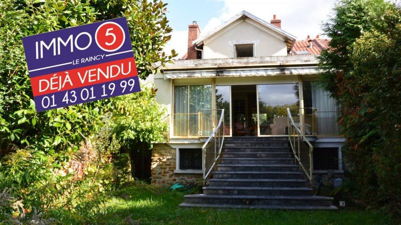 Vente maison / villa Villemomble 422000€ - Photo 1