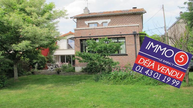 Sale house / villa Le raincy 715000€ - Picture 1