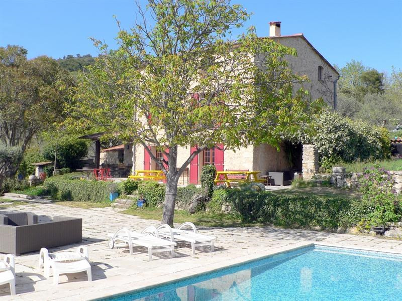 Deluxe sale house / villa Fayence 892 000€ - Picture 1