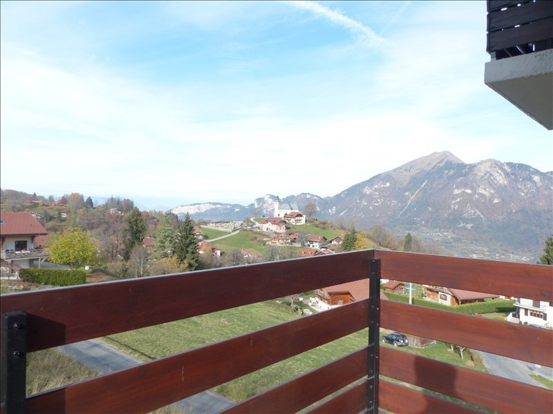 Vente appartement Mont saxonnex 128 800€ - Photo 1