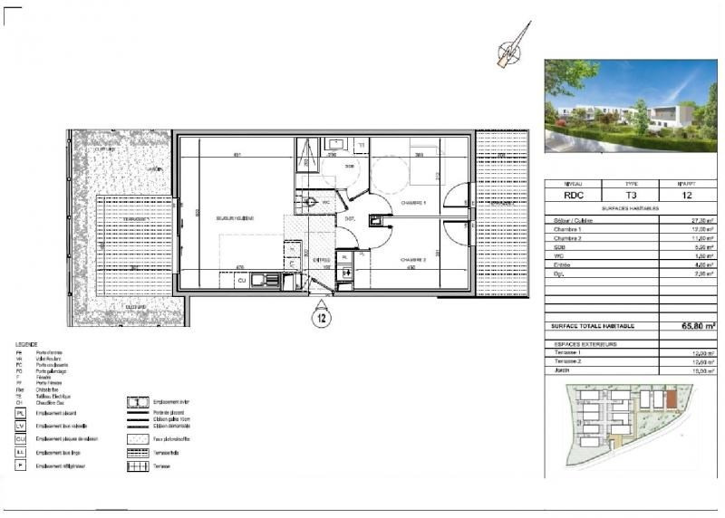 Vente appartement St jean de vedas 285000€ - Photo 3
