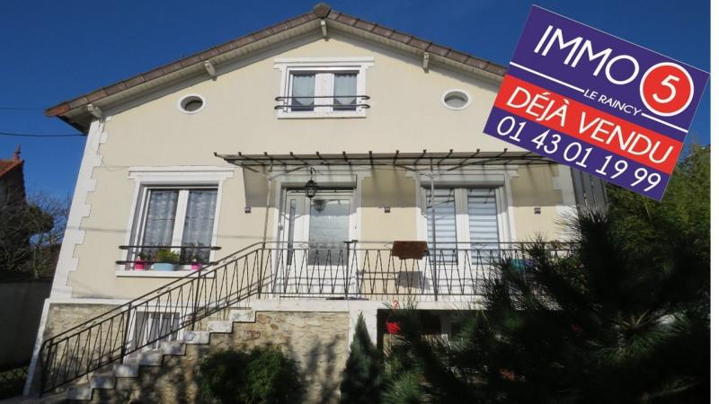 Sale house / villa Le raincy 430000€ - Picture 1
