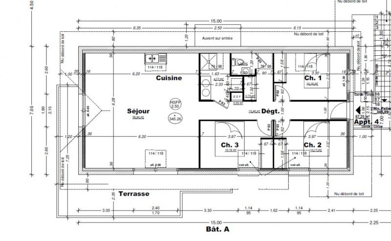 Vente appartement Aix les bains 374000€ - Photo 3