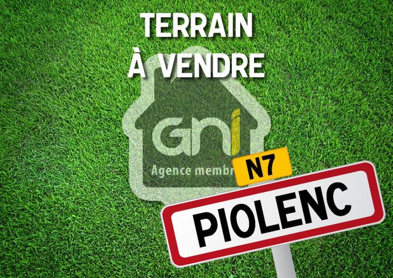 Vente terrain Piolenc 111000€ - Photo 1
