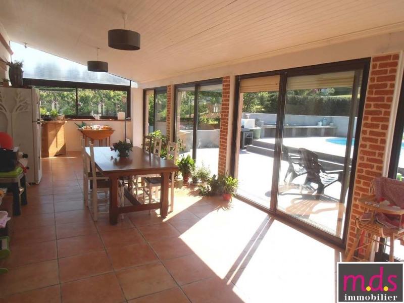 Sale house / villa Castelginest secteur 390000€ - Picture 2