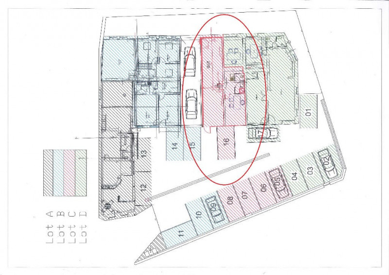 Rental empty room/storage Auxerre 800€ HC - Picture 2