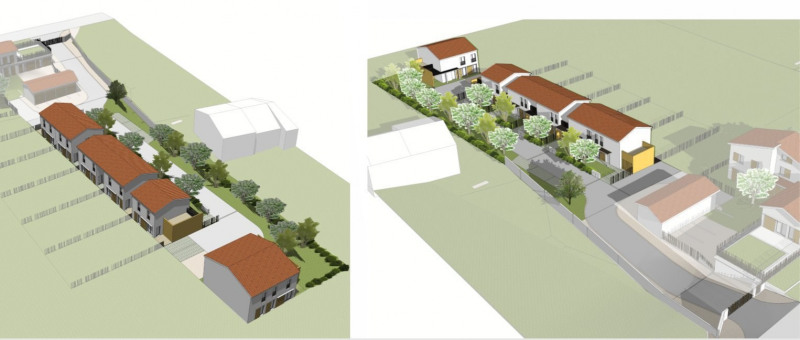 Vendita terreno Pont eveque 86000€ - Fotografia 2