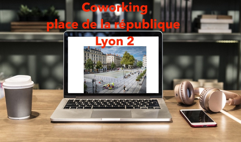 Co-working - 10 m² - 69002 presqu'île