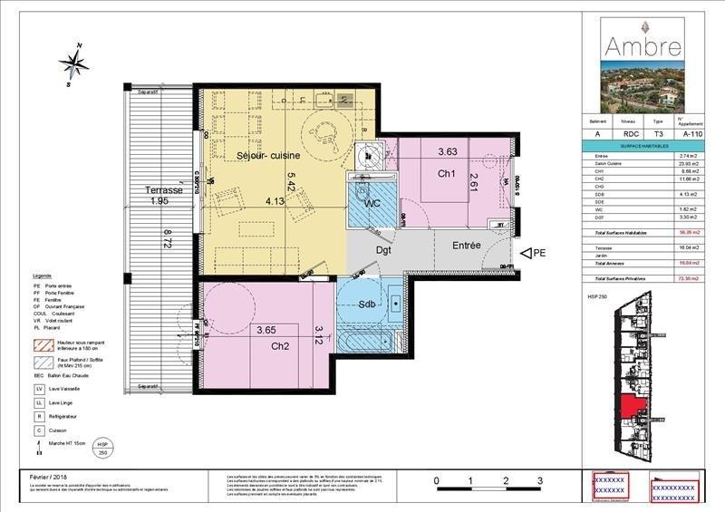 Sale apartment Sainte maxime 441300€ - Picture 4