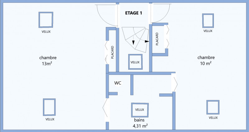 Revenda casa Meudon 775000€ - Fotografia 20