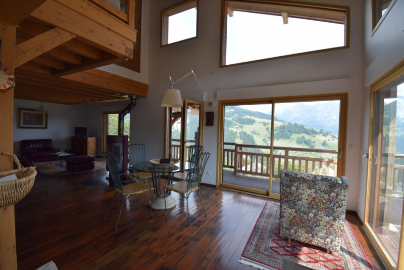 Vente de prestige maison / villa Grand bornand 980 000€ - Photo 5