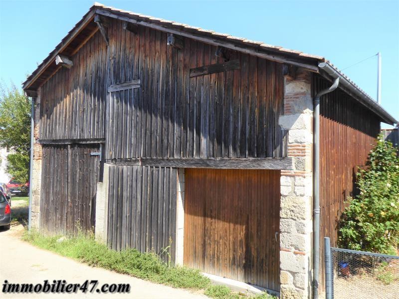 Garage double laffitte sur lot - 68 m²