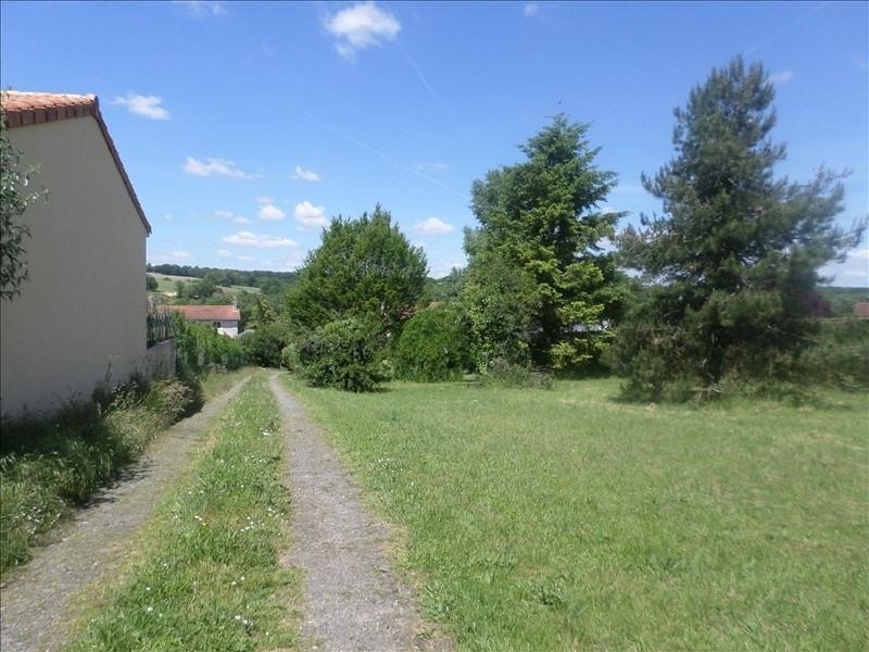 Vente terrain Lussac les chateaux 18000€ - Photo 1