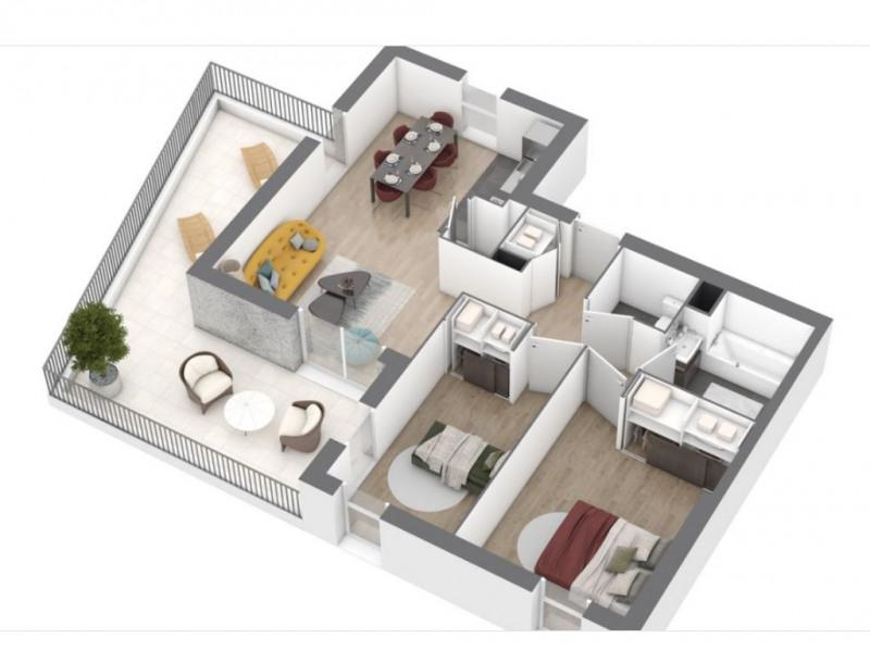 Sale apartment Saint nazaire 218000€ - Picture 4