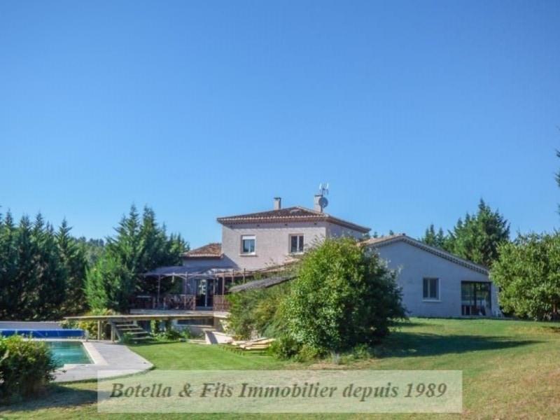 Verkoop van prestige  huis Barjac 593000€ - Foto 1