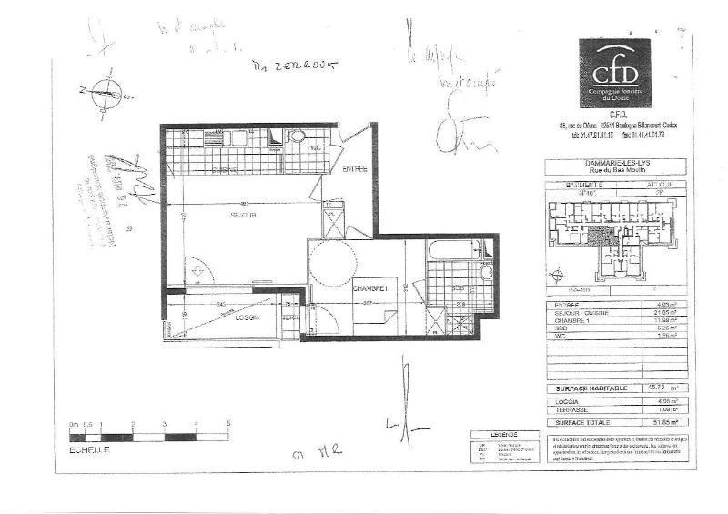 Location appartement Dammarie les lys 651€ CC - Photo 5