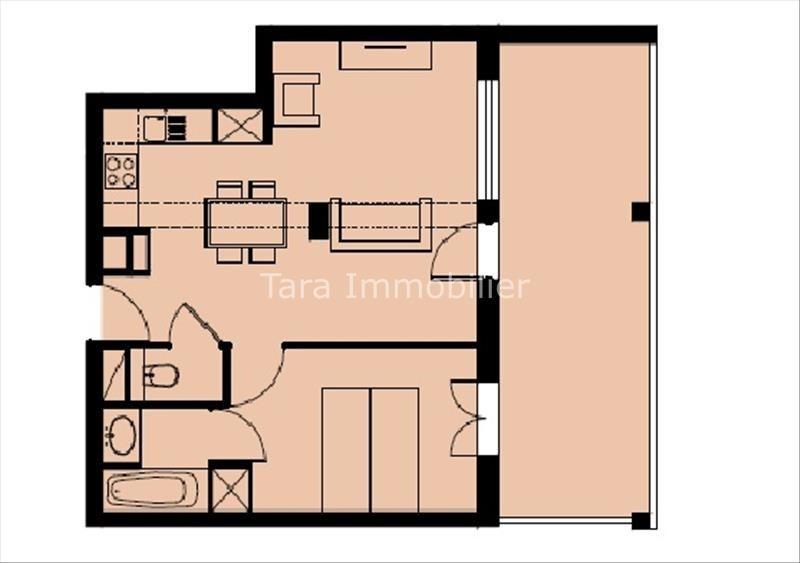 Sale apartment Vallorcine 226800€ - Picture 4
