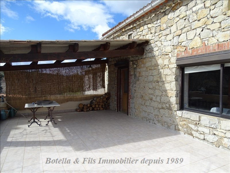 Vente maison / villa Barjac 318000€ - Photo 11