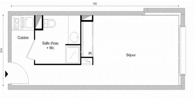 Vente appartement Castanet tolosan 122900€ - Photo 3