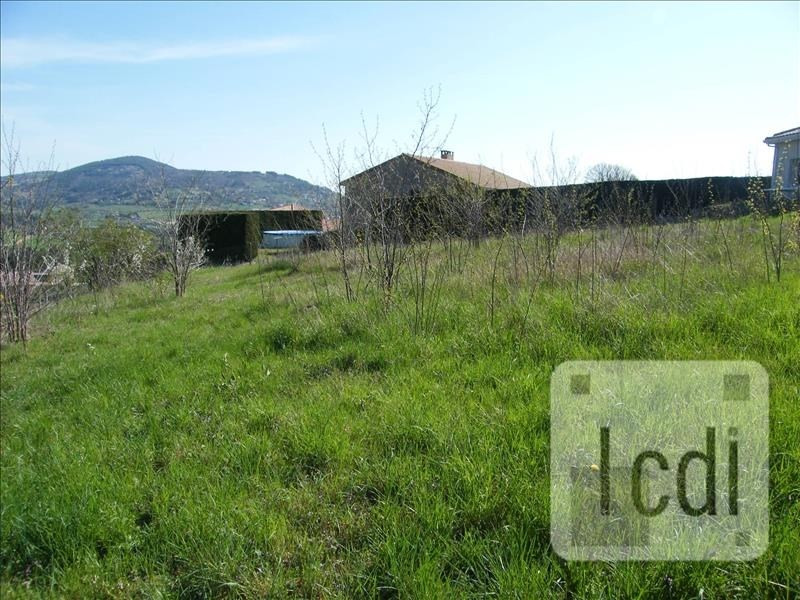 Vente terrain Boulieu-lès-annonay 45000€ - Photo 2